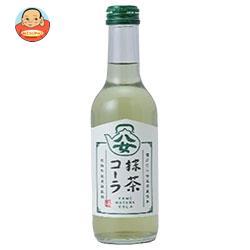 友桝飲料 八女抹茶コーラ 245ml瓶×24本入