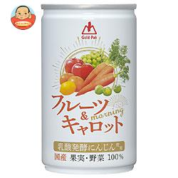 ゴールドパック フルーツ&キャロットmorning(モーニング) 160g缶×20本入