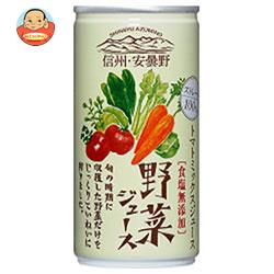 ゴールドパック 信州・安曇野 野菜ジュース (食塩無添加) 190g缶×30本入