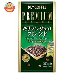 KEY COFFEE(キーコーヒー) VP(真空パック) キリマンジェロブレンド(粉) 200g×6袋入
