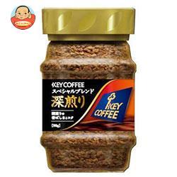 KEY COFFEE(キーコーヒー)  インスタントコーヒー スペシャルブレンド 深煎り 90g瓶×12本入