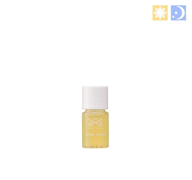 【ネコポス選択可】 シークレットフィリング<オイル美容液> トライアル 3mL(約15回分)