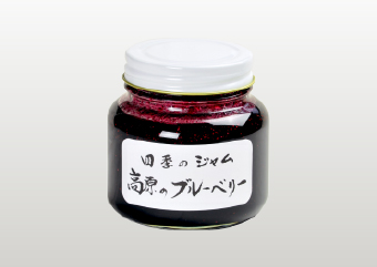 【四季のジャム】高原のブルーベリー L(580g)