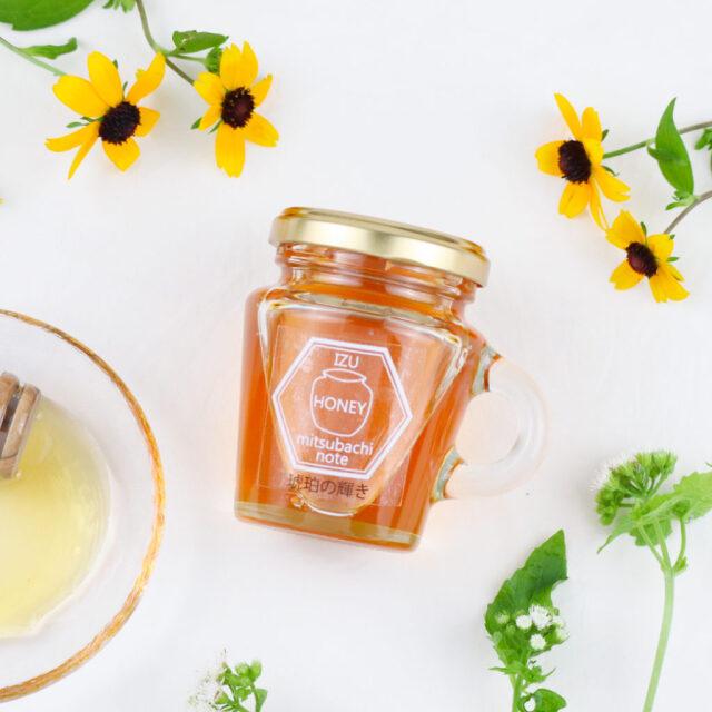 琥珀の輝き 天然ハチミツ 国産 生ハチミツ