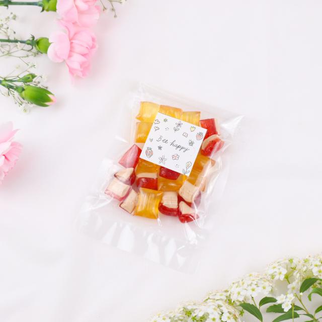 陽だまりハニーキャンディー (はちみつ飴Xいちごハニーミルク飴)