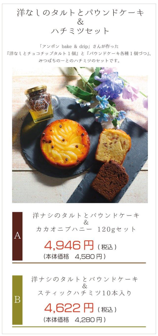 焼き菓子 スティックハチミツ