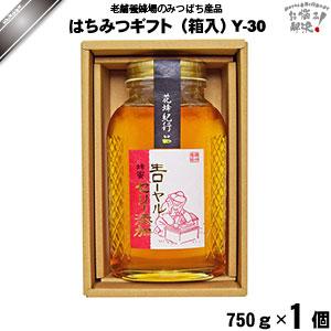 はちみつギフト Y-30 (750g×1)【化粧箱】