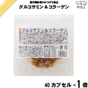 グルコサミン&コラーゲン (40粒)【5250円以上で送料無料】