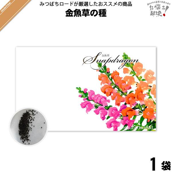 金魚草の種(1袋)