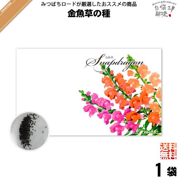 【お手軽 200円】金魚草の種(1袋)【送料無料】