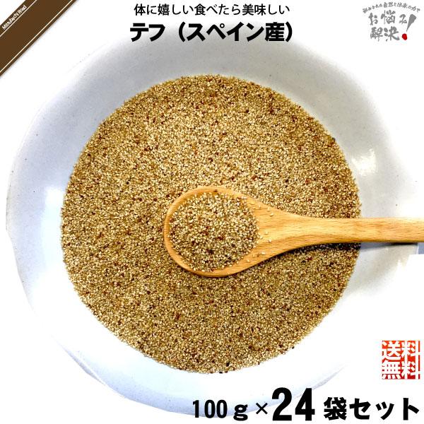 【24個セット】テフ(100g)
