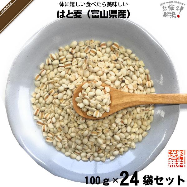 【24個セット】はと麦(100g)