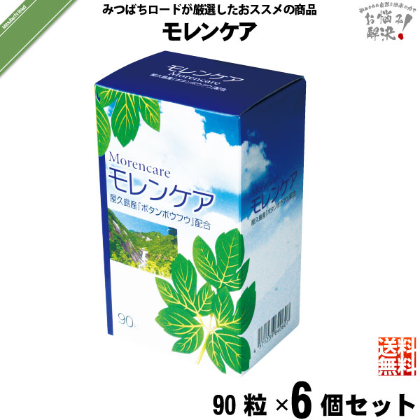 【6個セット】モレンケア (90粒)【送料無料】