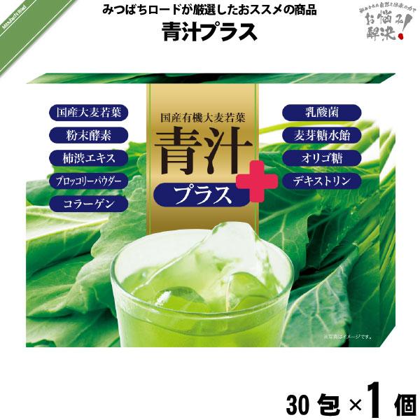 青汁プラス(30包)【5250円以上で送料無料】