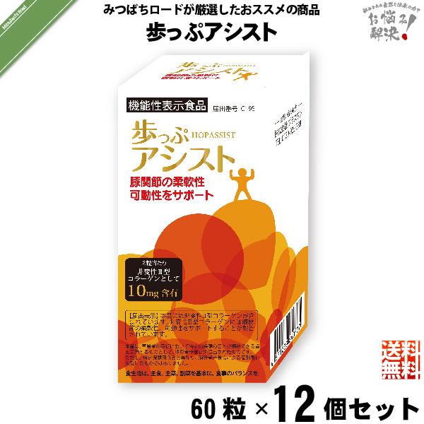 【12個セット】歩っぷアシスト(60粒)【送料無料】