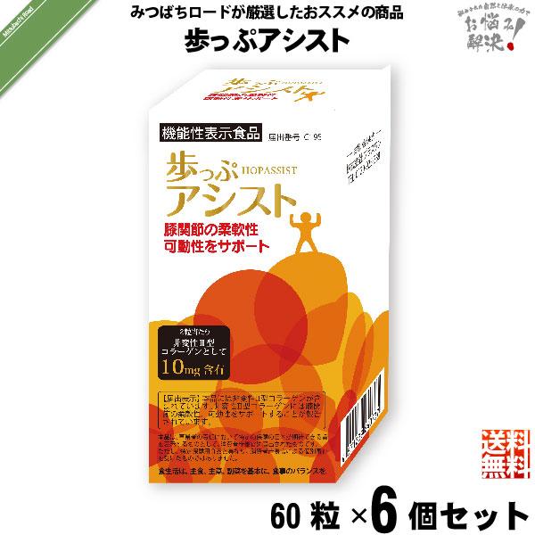 【6個セット】歩っぷアシスト(60粒)【送料無料】