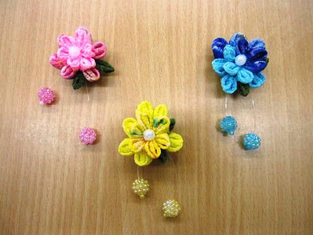 お花のマグネット