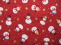 クリスマス生地 ★ No.79 ★ 110 cm 幅 ★ クリスマスタペストリー、ツリー、小物などに [x-0079]