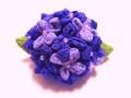 紫陽花(あじさい)のブローチ