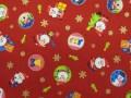 クリスマス生地 ★ No.38 ★ 110 cm 幅 ★ クリスマスタペストリー、ツリー、小物などに [x-0038]