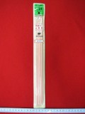 特価  クロバー 「カラー4 本針」 ★14 号 ★長さ : 30 cm ★旧パッケージ商品 ★パッケージのヨゴレ  [oki-0106]