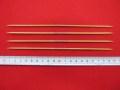 特価  「竹製 4 本短針」  ★ 2 号  ★ 長さ : 20cm   ★ 旧商品  ★ パッケージなし   [oki-0157]