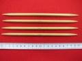 特価  「竹製 4 本短針」  ★ 14 号  ★ 長さ : 20cm   ★ 旧商品  ★ パッケージなし  [oki-0152]