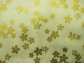 ラメ入り和調生地 ★ 桜柄 ★ No.153 ★ 綿 100 % ★ エプロン、作務衣、小物手芸などに ★ 110 cm 幅 [g-0153]