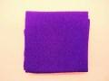 ちりめん生地 ★カット無地 ★No.11・紫 ★ちりめん細工や小物手芸に最適 ★サイズ33cm×23cm ★材質・レーヨン [ch-0011]