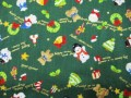 クリスマス生地 ★ No.11 ★ 110 cm 幅 ★ クリスマスタペストリー、ツリー、小物などに [x-0011]