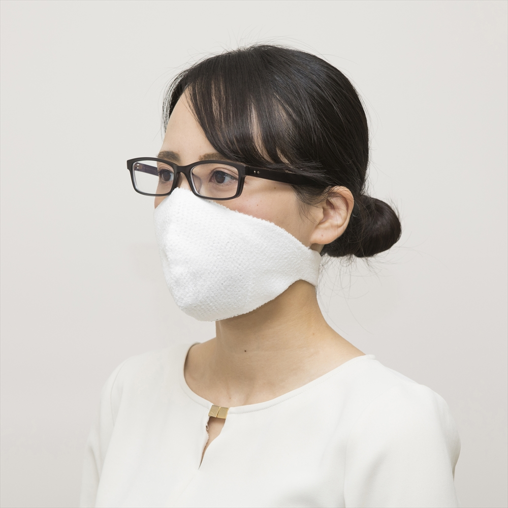ダブルの抗ウイルス 耳にかけないhamon AG マスク II (N95相当の高性能フィルタ 5枚付)