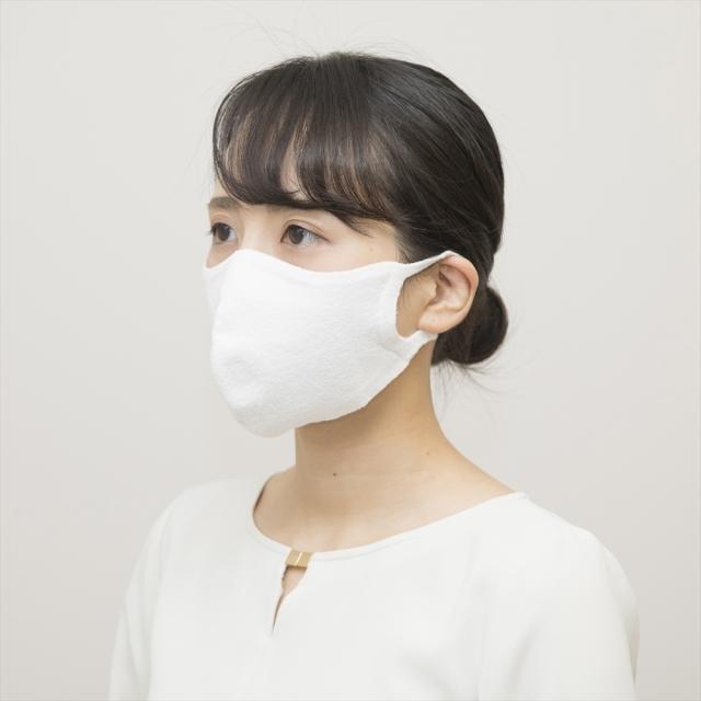 100回洗える夏マスク/hamon AG マスク(ホワイト)