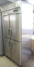 ★2019年 フクシマ 縦型冷蔵庫 ARN-090RM-F センターフリー 612L W900×D650×H1950mm★