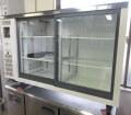 ★2016年 フクシマ テーブル型冷蔵ショーケース TGU-40RE W1200×D450×H800mm★