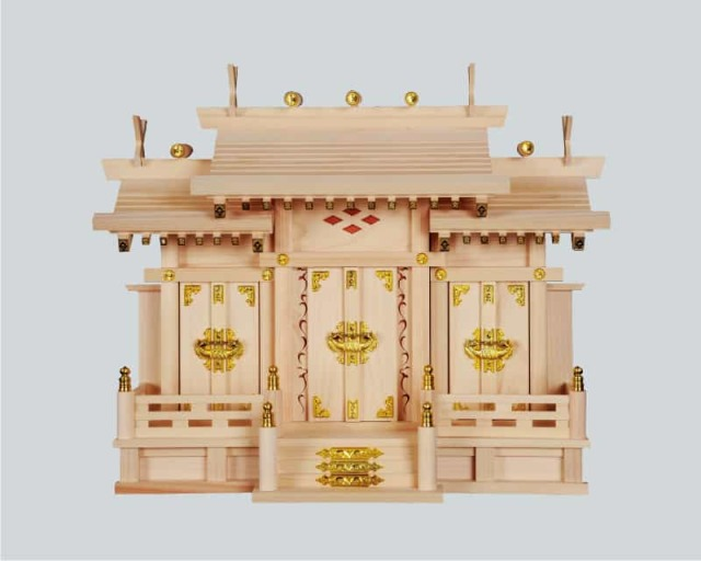 神棚:屋根宮「神陽三社」