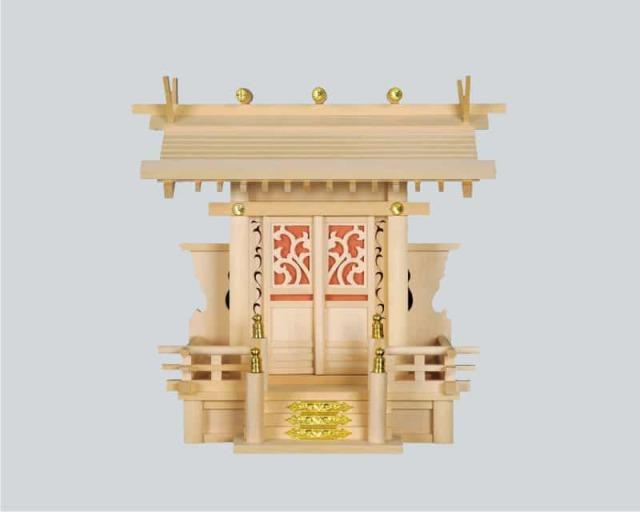 神棚:屋根宮「蘭一社」