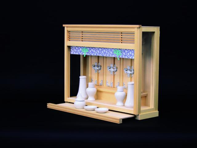 つぼみ:飾り場所を選ばない薄造りの神棚