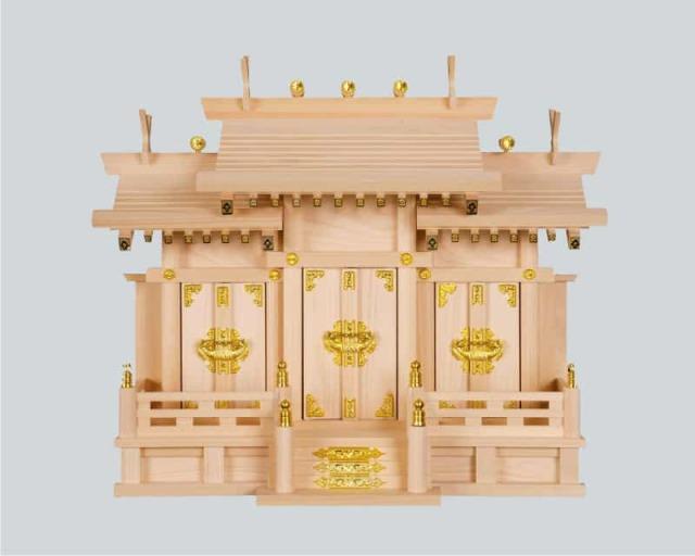 神棚:屋根宮「屋根違三社 小」