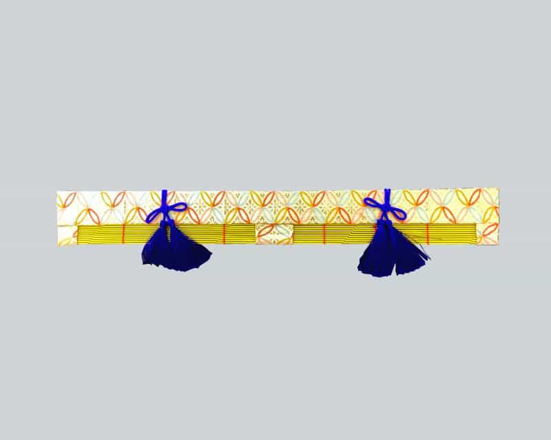 西陣織り翠簾(みす)