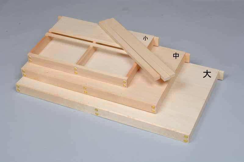 壁掛けタイプ、組み立て式の棚板「蝦夷式棚板」