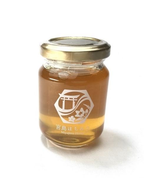 送料無料  広島県産宮島はちみつ(夏)120g 非加熱 国産 無添加 蜂蜜