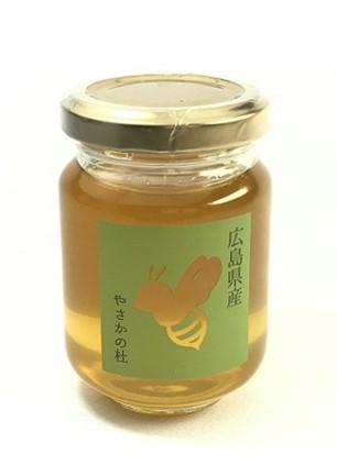 送料無料  広島県産はちみつ やさかの杜 120g 非加熱 国産 無添加 蜂蜜