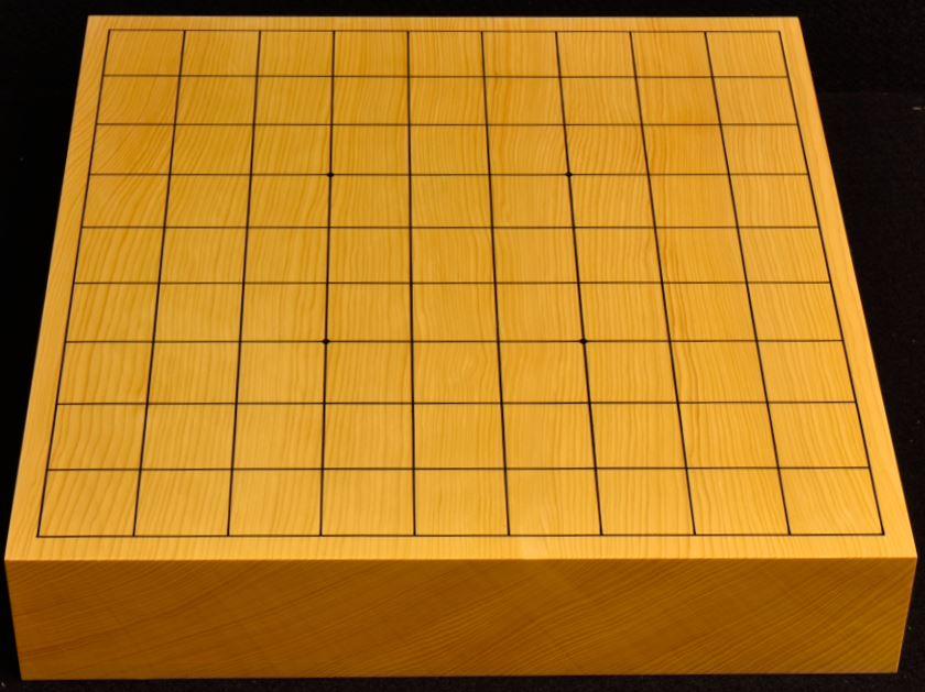 本榧卓上将棋盤 t5380