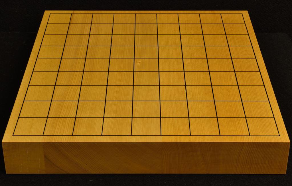 本榧卓上将棋盤 t6260