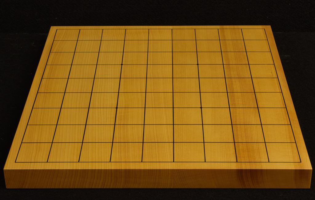 本榧卓上将棋盤 t6262