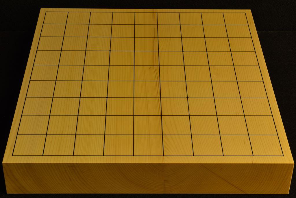 卓上将棋盤 本榧(日本産) t6396