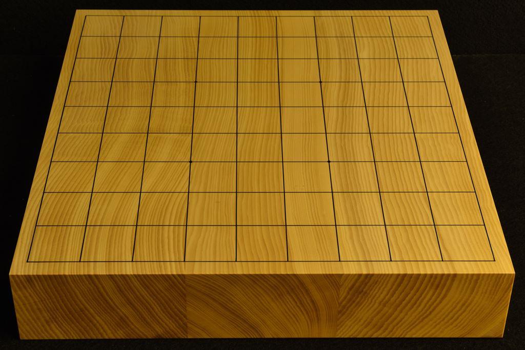 卓上将棋盤 本榧(日本産) t6397