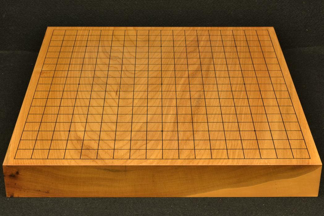 碁盤 本桂20号卓上  一枚板 竹印