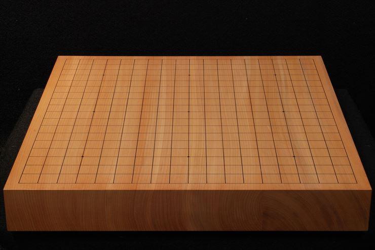 碁盤 本桂20号卓上松印 柾目接合