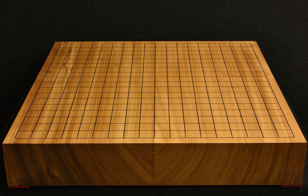 碁盤 本桂25号卓上松印 柾目接合